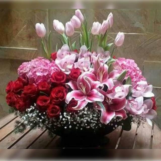 Bunga Meja 004